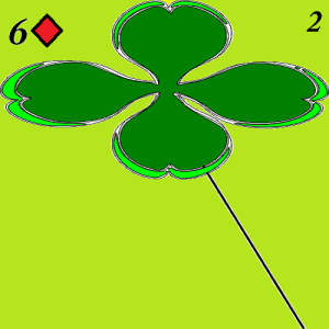 lenormand card two clover