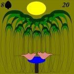 Lenormand card 20 garden