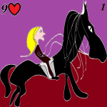 lenormand card 1 the rider