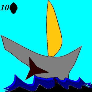 Lenormand card 3 ship